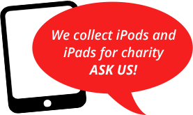 iPod and iPad donations accepted here